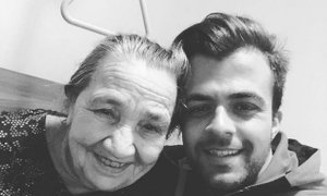 Gašper Rifelj: Pogrešal te bom, draga moja 'majka'