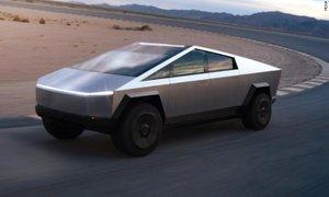 Muskov neprebojni DeLorean, ki so ga poškodovali na veliki demonstraciji
