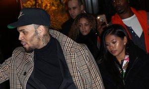 Chris Brown in njegova bivša sta se razveselila sina