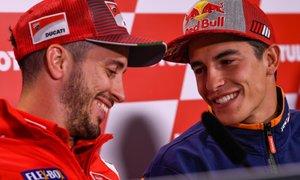 Dovizioso presrečen s hitrostjo Ducatija na 'prostem': Še kako bom konkurenčen ...