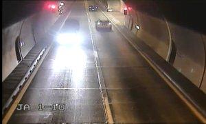 Posnetek Romuna, ki je ponoči vozil v napačno smer