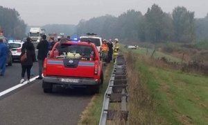 Slovenec pri Zagrebu na avtocesti zbil 27-letnika