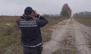Nova skupina migrantov iz BiH skušala vstopiti na Hrvaško