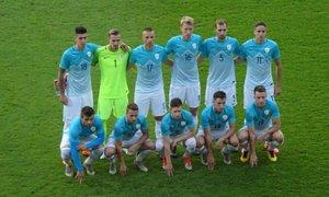 Obetavna predstava: nogometni upi remizirali z Angleži