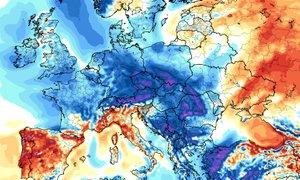 Po zelo toplih tednih bo Evropo preplavil občutno hladnejši zrak