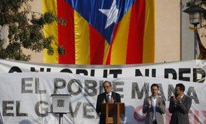 Katalonska vlada: španski premier naj določi dan in uro za pogajanja z nami