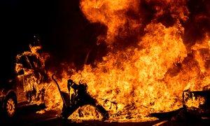 Barcelona v plamenih: Torra ostro obsodil nasilje