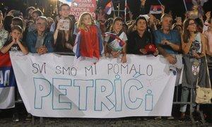 Beograd slavil z odbojkarji, na 'tapeti' poleg Giulianija tudi Pahor
