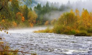 Reke bodo naraščale, možna manjša razlivanja