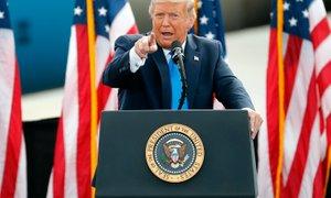 Trump še vedno vztraja, da je zmagal na volitvah