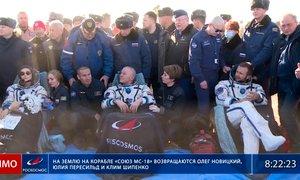 Po snemanju prvega filma v vesolju ruska ekipa spet na Zemlji