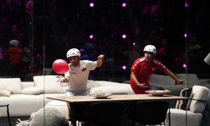 Gerard Pique organiziral prvo svetovno prvenstvo v 'balonanju'