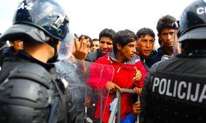 'Policisti delamo strokovno in zakonito'