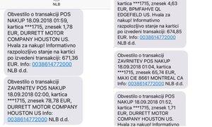 Ko vas sredi noči zbudijo SMS-sporočila o opravljenih transakcijah