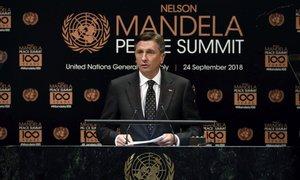 Pahor v ZN: Mandela nam daje upanje, da je tudi nemogoče lahko mogoče