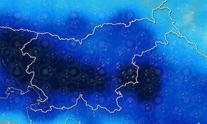 ANIMACIJA: Prvi dan koledarske jeseni bodo zaznamovale nevihte z nalivi