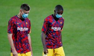 Dembele jezi tudi novega trenerja: spet zamudil na trening Barcelone