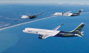 Brez emisij: Airbus razkril načrte za letala na vodikov pogon