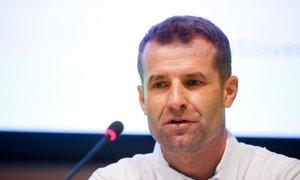 Hauptman pred SP: Zavedamo se moči naše reprezentance