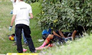 Prvenstvo v Imoli se je začelo z grozljivim padcem: branilka naslova poletela ...