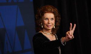 Sophia Loren prejemnica prestižne nagrade david