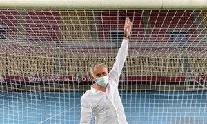 Mourinho v svojem slogu o tekmi v Skopju: Mislil sem, da sem zrasel