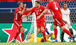 Rezervist Bayerna Javi Martinez z glavo poskrbel za novo lovoriko Bayerna