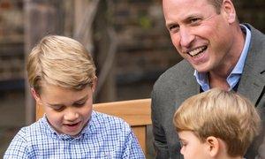 Princ George bo zob morskega psa vendarle lahko obdržal
