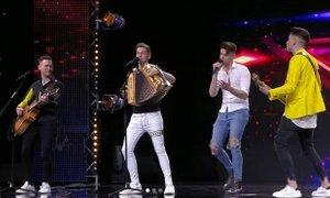 Polkaholiki na hrvaških Talentih dvignili dvorano na noge