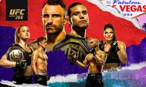 UFC 266: Vrnitev Diaza, Ortega bo izzval Volkanovskega