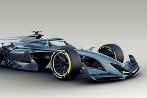 Dirkalnik prihodnosti: takšen bo bolid formule ena leta 2021