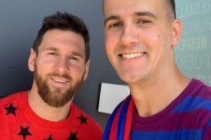 Kakšno darilo! Messi Slovencu uresničil življenjske sanje.