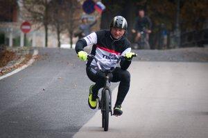 Everesting v Ljubljani: 156-krat z BMX na Ljubljanski grad