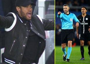Neymarju Uefa potrdila kazen zaradi žaljenja slovenskih sodnikov