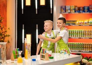 Znana sta prva finalista šova Mali šef Slovenije