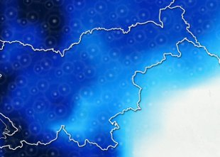 ANIMACIJA: Slovenijo bo prešlo več nevihtnih pasov: možni daljši nalivi in ...