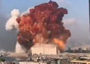 Huda eksplozija v Bejrutu, vsaj 40 mrtvih, 2500 ranjenih