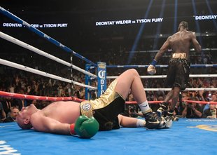 Wilder grozi nasprotnikom: Jaz sem ta, ki vas lahko nokavtira, kadarkoli se mu ...