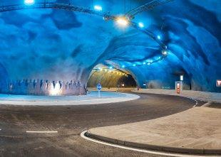 Na Ferskih otokih zgradili sistem podvodnih tunelov s krožiščem v središču