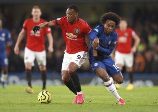 Manchester United odnesel zmago iz Stamford Bridgea