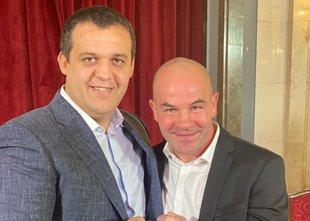 Zavec z Vučićem med ustanovitelji klubske boksarske regionalne lige