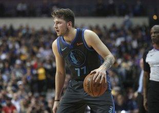 Dončić drugi najmlajši v zgodovini NBA s trojnim dvojčkom