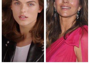 Damian Hurley na las podoben mami Liz