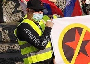Na protestih zaznali desni in levi ekstremizem