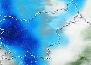 ANIMACIJA: Prihodnji dnevi bodo nevihtno pestri, vročina bo popustila