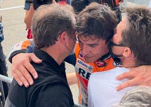 Marc Marquez se je vrnil: osma zaporedna zmaga Katalonca med elito na ...