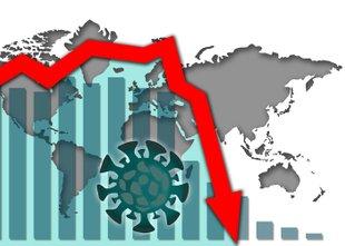 Velik gospodarski padec: po dolgem času smo spet v minusu