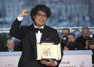 Zlato palmo prejela črna južnokorejska komedija Parasite
