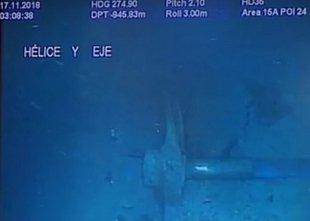 Svojcem pokazali posnetke zmečkane podmornice