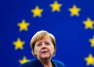 Tudi Merklova naklonjena ustanovitvi evropske vojske
